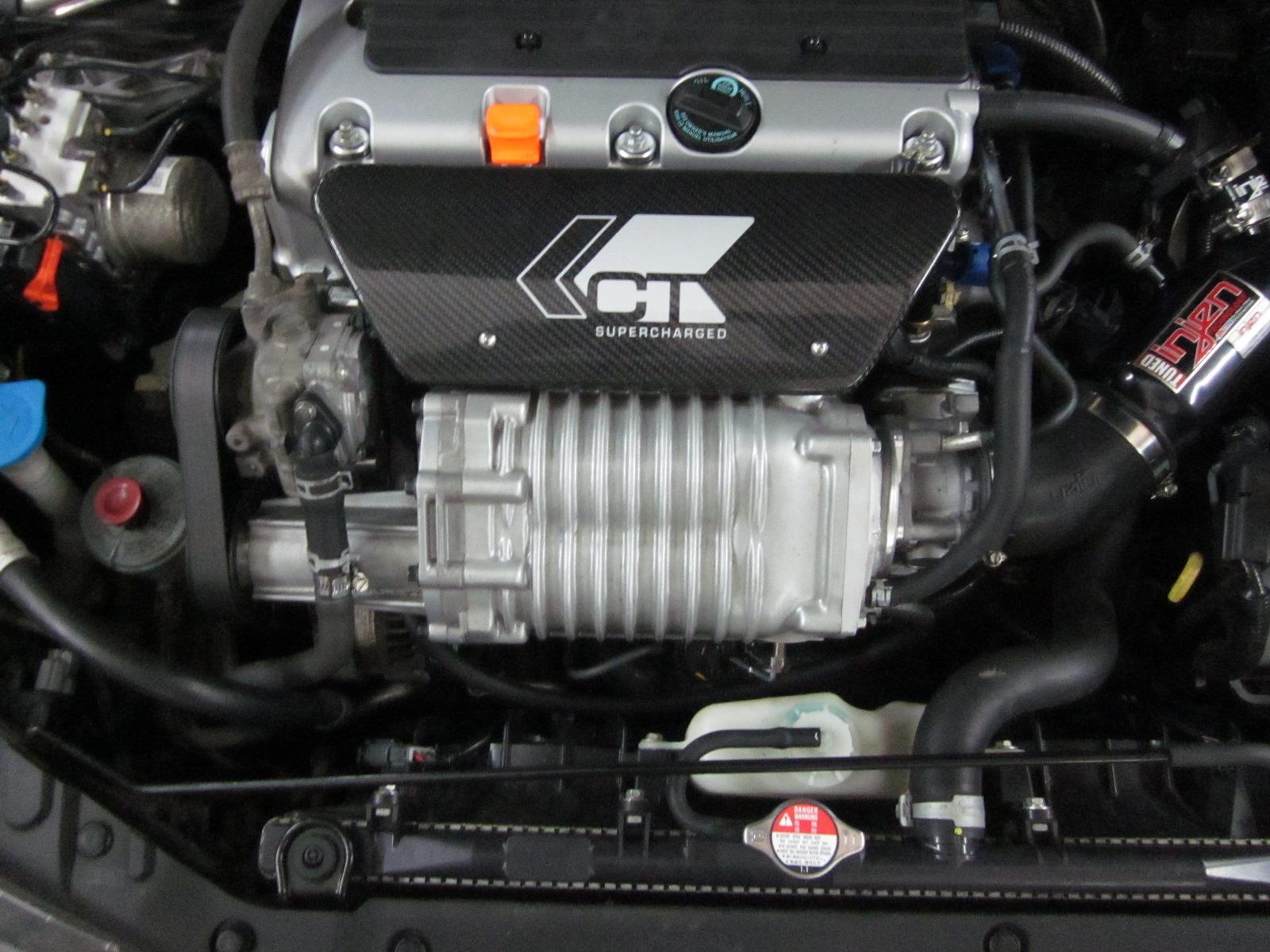 Компрессор для Хонда Аккорд 7  Supercharger Honda  Тюнинг