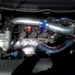 Rotrex R18 + water intercooler