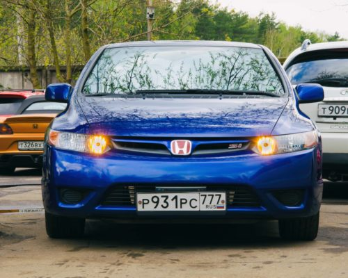 Civic Si K20Z с центробежным суперчарджером Rotrex  C30